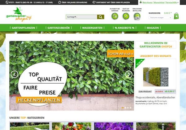 Gartencenter Shop 24