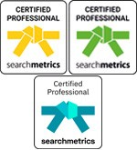 Searchmetrics Certified Professional