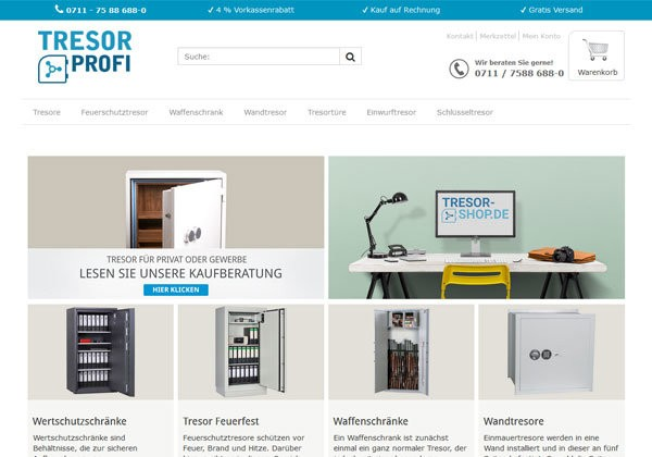 Tresor Shop